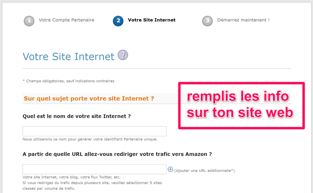 Amazon Affiliation Votre Site