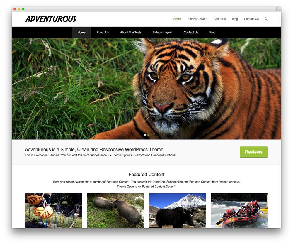 theme-gratuit-portfolio-aventurous
