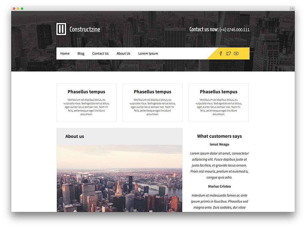 Constructzine-lite-theme