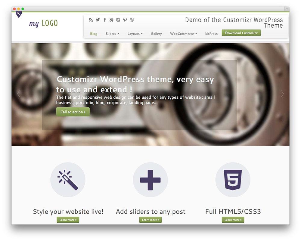 Customizr-free-business-theme
