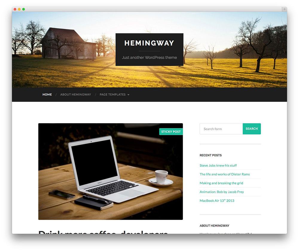 theme-personnel-wordpress-hemingway