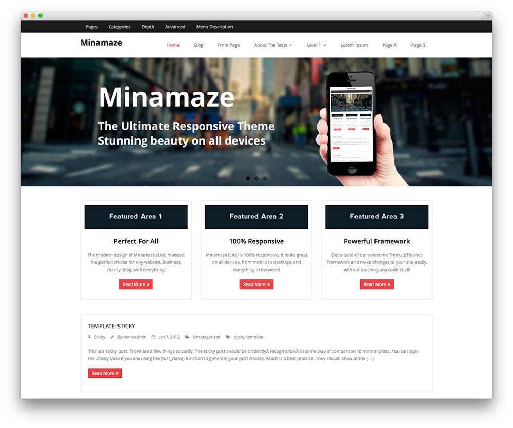 theme-wordpress-gratuit-minamaze