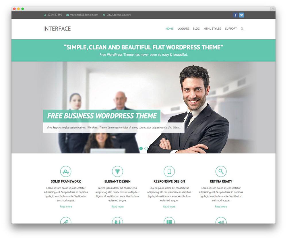 theme-wordpress-business-interface