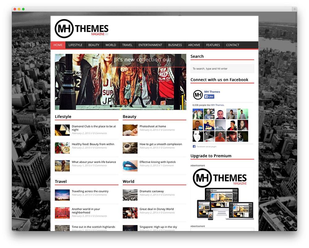 theme-wordpress-magazine-mh