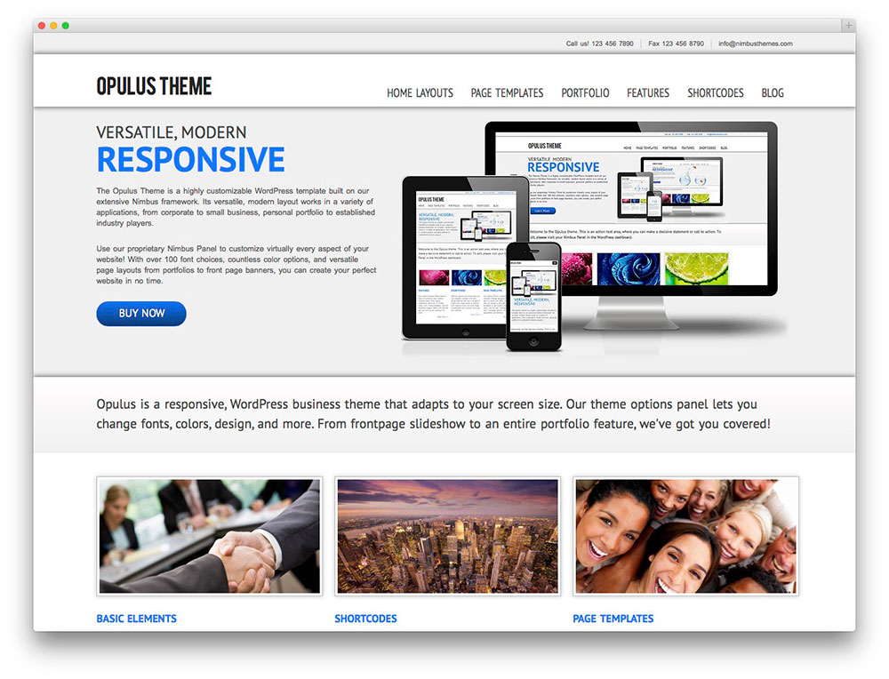 template-wordpress-opulus