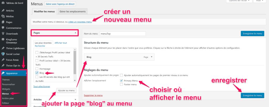 gerer-menu-wordpress