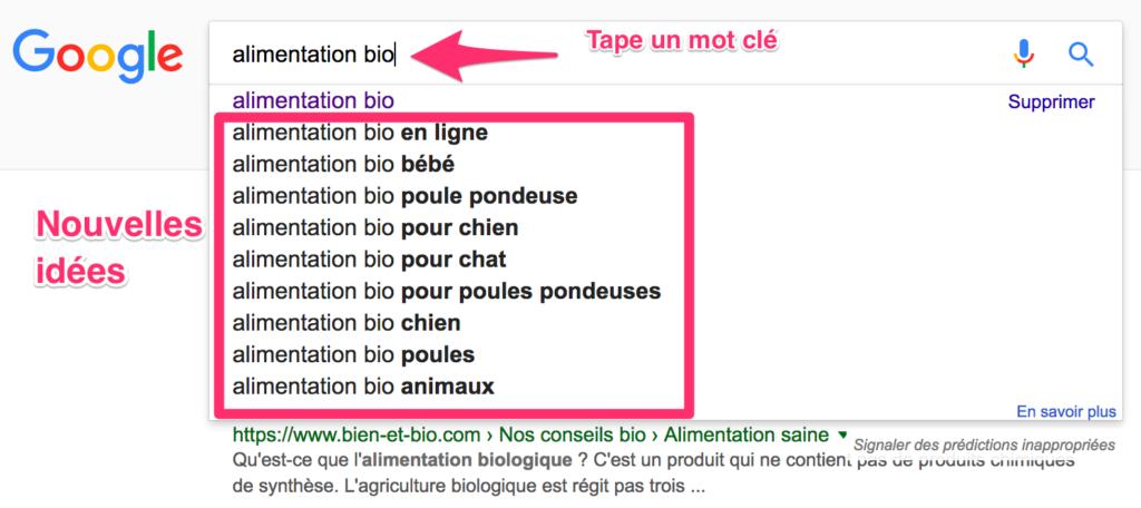 google-auto-completion-mots-cles